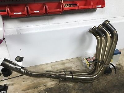 Yamaha Fazer 600 Stainless Exhaust Downpipes System 98-02