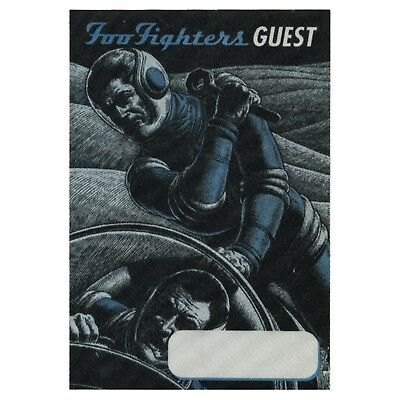 Foo Fighters authentic Guest 1997 tour Backstage Pass