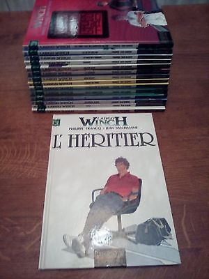 LOT BD LARGO WINCH - VAN HAMME - Tomes 1 à 15 dont EO en TTBE