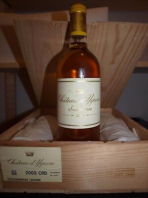 Château d' Yquem 2003 . 1bouteille   (delivery europe)