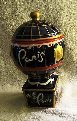 Rare - Paris Casino - Las Vegas - Novelty Ceramic Drink Container - Glass - Cup