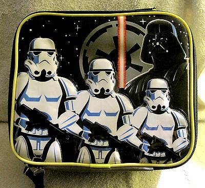 New - Disney Store - Star Wars - Darth Vader - Storm Troopers - Lunch Box Bag