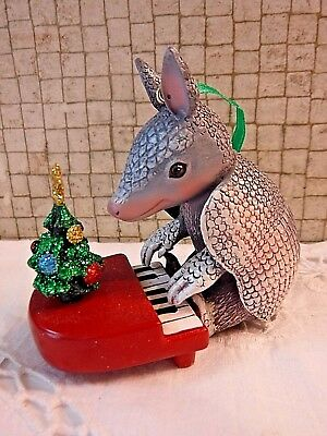 Danbury Mint ARMADILLO Baby Animals Christmas Ornament with Tag