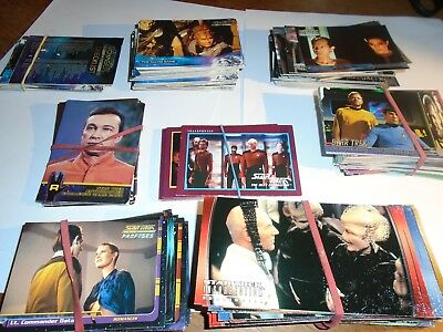 Star Trek Trading Cards Job Lot