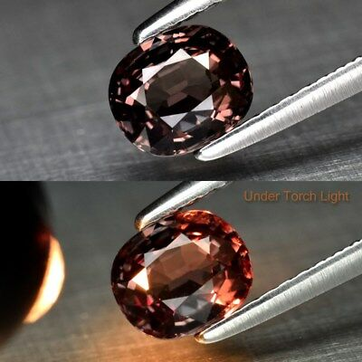 0.92ct 5.8x5mm Oval Natural Unheated Color Change Garnet, Africa