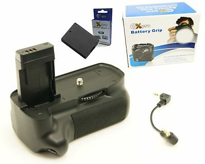 Ex-Pro Power Grip KIT BG-1100D & 2 x LP-E10 Battery for Canon Kiss X50