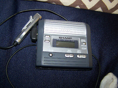 Sharp MD-MT290 Personal MiniDisc Player / Recorder
