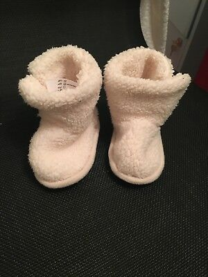 little white company 12-18 months Slippers