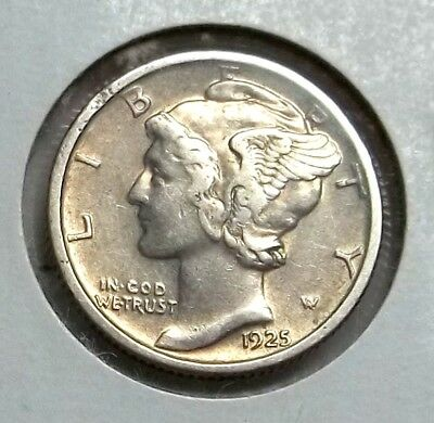 1925-P Mercury Dime in higher circulated grade. Tougher Date..Let's deal