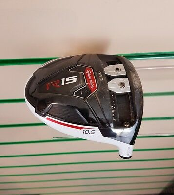 Taylormade R15 460 Driver Head Only / 10.5 Degree / Good Condition / #0128
