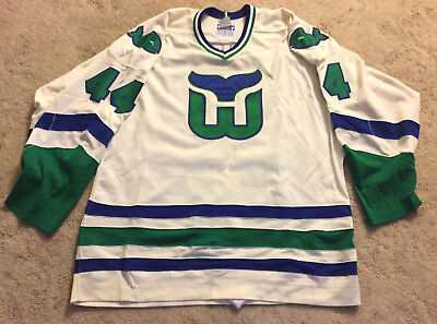 Vintage Ccm Gerry Cosby Hartford Whalers Nhl Authentic Jersey