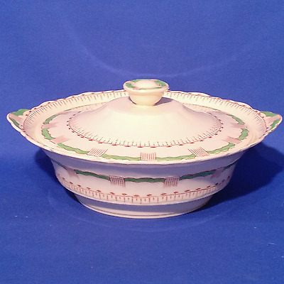 Vintage Art Deco ALFRED MEAKIN - SPEARPOINT - Lidded TUREEN SERVING DISH