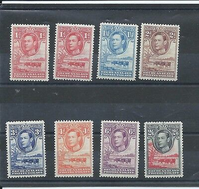 Bechuanaland stamps.Some of the 1938 etc George VI series MH includes 2s6d(A356)