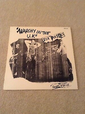 Sex Pistols - Anarchy In The Uk - French Release - Vinyl - Punk