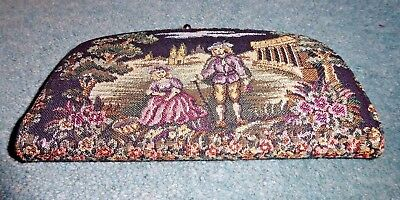 1960s Vintage tapestry purse wallet clutch Baronet Fifth Avenue