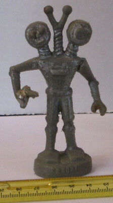 Old Rare Htf Vintage 1950's Miller Alien Wax Mercury Figure Weird Space Robot