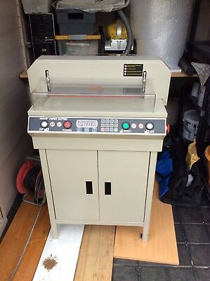 electric paper card cutter guillotine 450 VS used