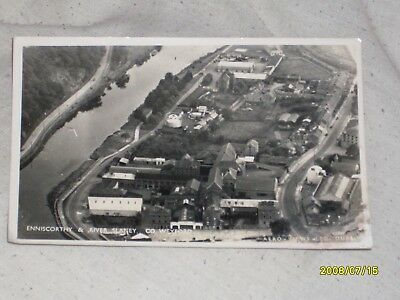 a vintate real photo card of enniscorty and river slaney co wexford ireland