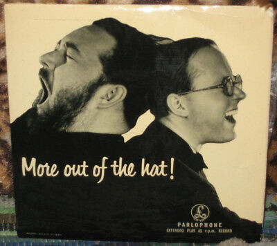 MICHAEL FLANDERS & DONALD SWANN More Out Of The Hat! 1957 UK Mono EP RARE