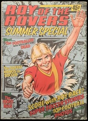 Roy of the Rovers 1981 Summer Special - Football Holiday Excitement - Roy Race