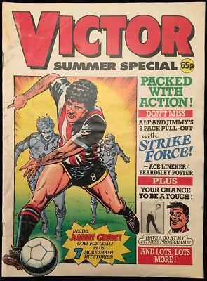 Victor Summer Special 1988 - Holiday Action! - Complete with Poster