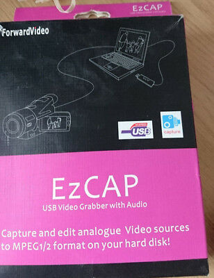 EzCAP USB 2.0 Video Capture Grabber With Audio