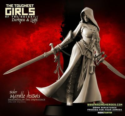 Fantasy Miniatures - Raging Heroes - 5 Daughters of The Orphanage - KS TGG2