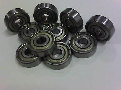 MR115 ZZ Bearings in pack of 10 pieces.