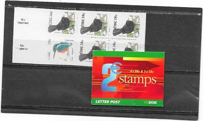 "STAMPS: IRELAND 2002  e2 "" BIRDS "" BOOKLET (SB95) (U/MINT)"