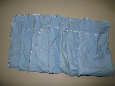 Eight----> Capital Holder Flannel Pouches - No Coins
