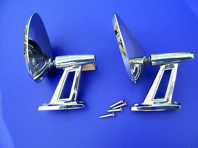 1960 1961 1962 1963 1964 1965 1966 Dodge  Plymouth Twin Post Mirrors