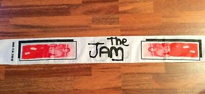 The Jam  1982  UK Tour scarf
