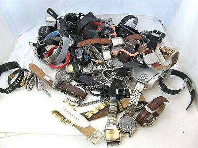 10.05LBS. Assorted Watch Lot-FOR PARTS OR REPAIR #7189A (os)
