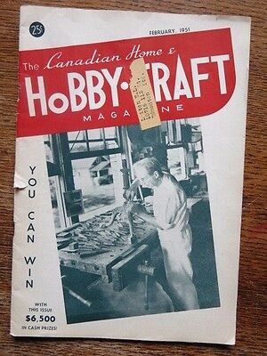 Vintage Hobby Craft Magazine