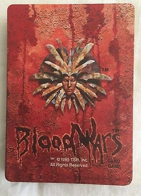 Lot of 39 Blood Wars CCG Cards - Some Rares - Dungeons and Dragons