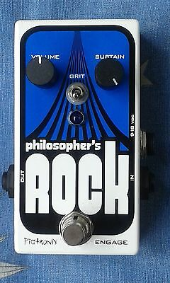 pigtronix philosopher´s rock compressor and germanio drive pedal,good conditions