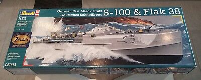 Revell 05002 Schnellboot S-100 & Flak 38 + Griffon N72002 + Artwox AW50033 1:72