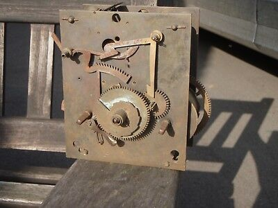 Longcase Movement for Parts. Not complete see pictures.