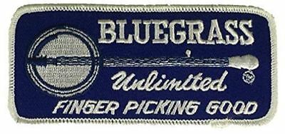 Bluegrass Unlimited Finger Picking Good Patch Banjo Folk Roots Music Appalachia