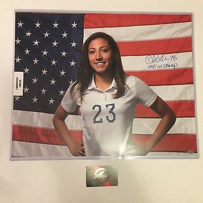 2017 Leaf Memorabilia Vault Autograph Christen Press 16x20 Photo With COA