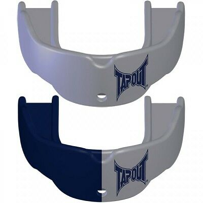 Tapout Mouth Guards Pack of 2 Blue/Silver - ALL Sport Mouthguard   Youth Size