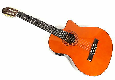 Washburn C5-Ce Classical Series Electric Acoustic 6 String Guitar + Gig Bag