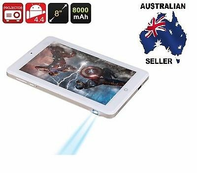 "Android Projector Tablet - 8"" 1280x800 Screen, RK3188 Quad Core CPU AUS SELLER"