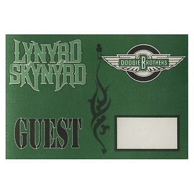 Lynyrd Skynyrd Authentic 1996 Outta the Hole Tour Doobie Brothers Backstage Pass