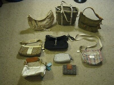Coach, Michael Kors, Dooney& Bourke, Kate Spade handbag lot