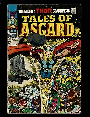 Tales Of Asgard 1 Vgf 5.0 Reprints Journey Into Mystery Thor Odin Kirby Lee
