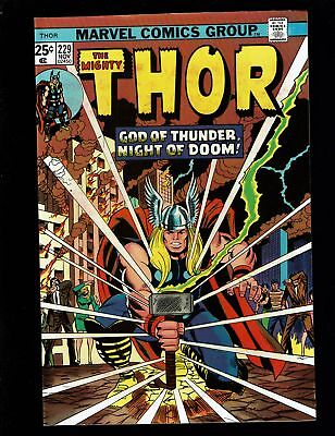 THOR 229 VF+ 8.5 SIF ODIN HERCULES 1st FEAR 1st WOLVERINE AD CONWAY BUCKLER