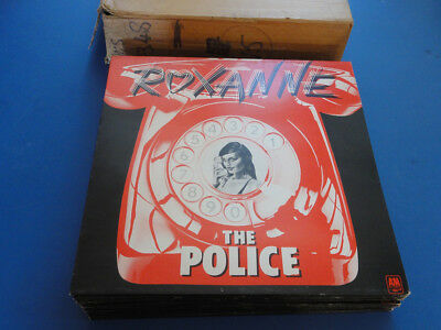 "THE POLICE  ROXANNE A&M 78 A1B1 1st pr 12"" p/s 45 MINT ARCHIVE NEW OLD STOCK"