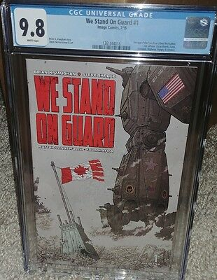 We Stand on Guard #1 CGC 9.8 - Brian K. Vaighan