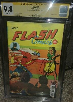 The Flash #22 lenticular CGC SS 9.8 signed by Joshua Williamson
